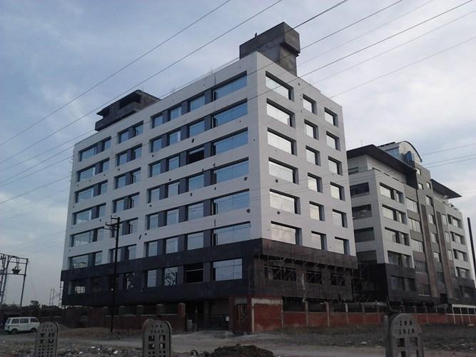 Commercial Building Elevation Acp | Joy Studio Design Gallery - Best ...